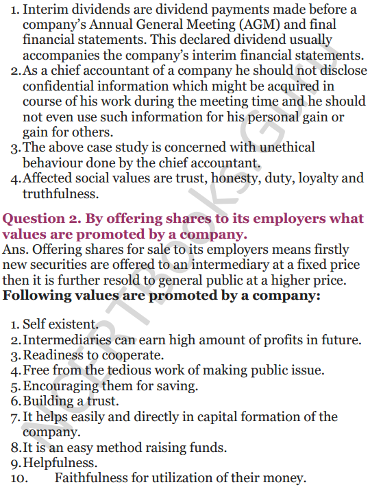 NCERT Solutions for Class 12 Entrepreneurship Chapter 6 Resource Mobilization 60