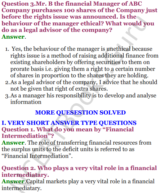 NCERT Solutions for Class 12 Entrepreneurship Chapter 6 Resource Mobilization 61