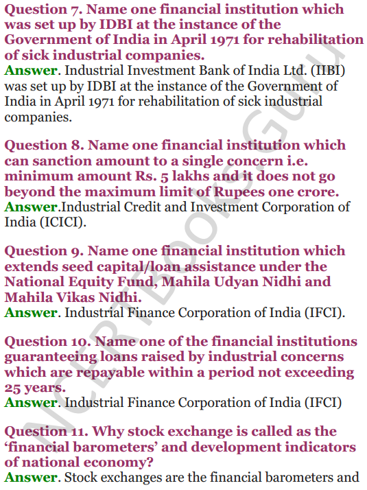 NCERT Solutions for Class 12 Entrepreneurship Chapter 6 Resource Mobilization 63
