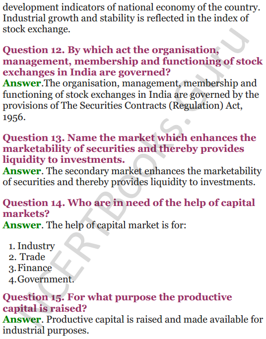 NCERT Solutions for Class 12 Entrepreneurship Chapter 6 Resource Mobilization 64