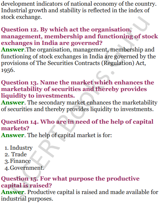 NCERT Solutions for Class 12 Entrepreneurship Chapter 6 Resource Mobilization 65