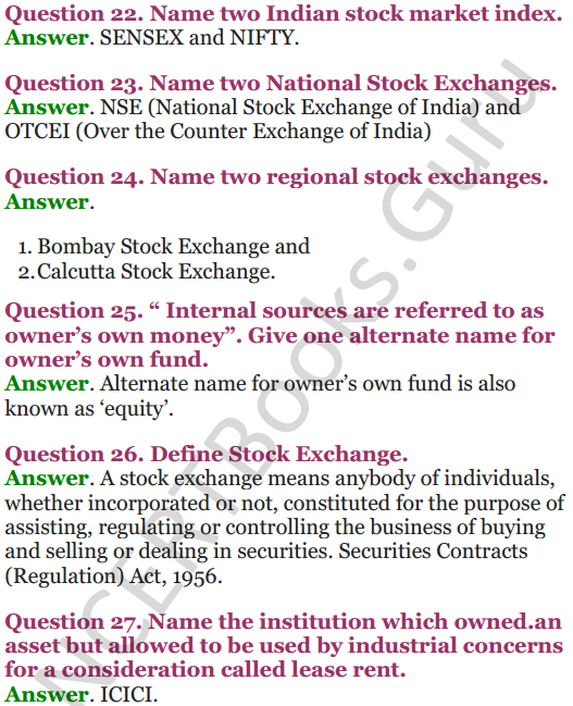 NCERT Solutions for Class 12 Entrepreneurship Chapter 6 Resource Mobilization 67