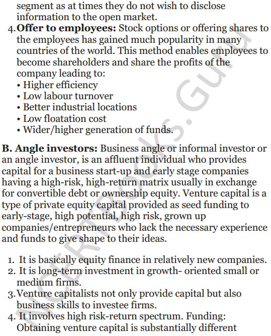 NCERT Solutions for Class 12 Entrepreneurship Chapter 6 Resource Mobilization 7