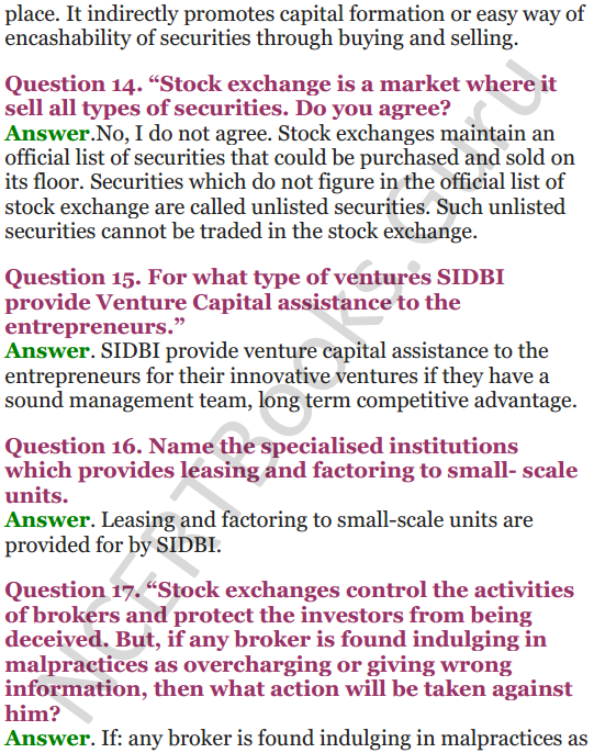 NCERT Solutions for Class 12 Entrepreneurship Chapter 6 Resource Mobilization 74