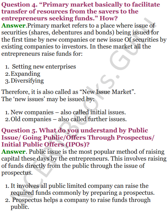 NCERT Solutions for Class 12 Entrepreneurship Chapter 6 Resource Mobilization 77