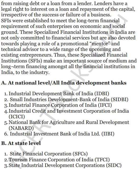 NCERT Solutions for Class 12 Entrepreneurship Chapter 6 Resource Mobilization 8