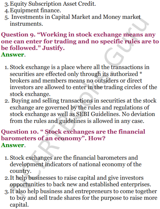 NCERT Solutions for Class 12 Entrepreneurship Chapter 6 Resource Mobilization 80