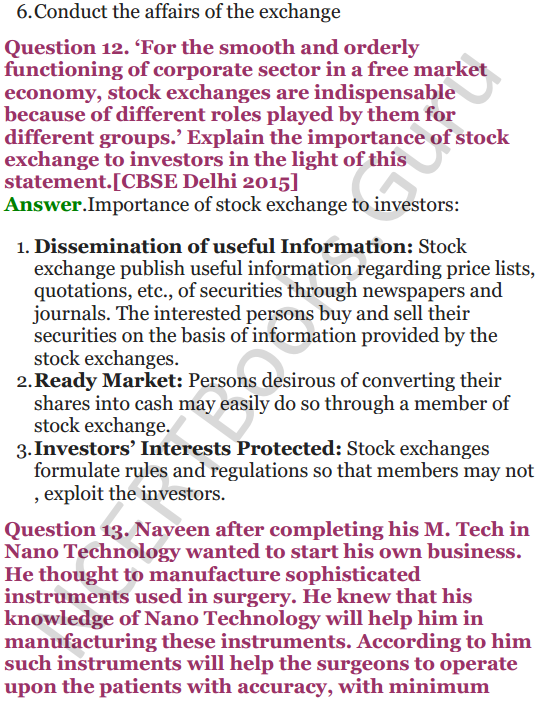 NCERT Solutions for Class 12 Entrepreneurship Chapter 6 Resource Mobilization 82