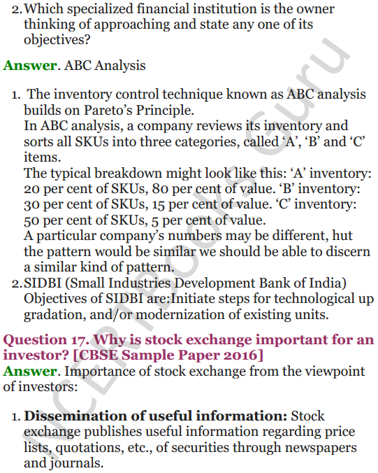 NCERT Solutions for Class 12 Entrepreneurship Chapter 6 Resource Mobilization 86