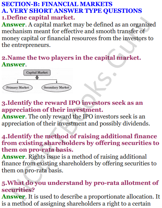NCERT Solutions for Class 12 Entrepreneurship Chapter 6 Resource Mobilization 9