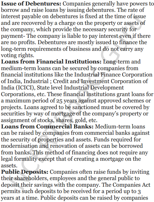 NCERT Solutions for Class 12 Entrepreneurship Chapter 6 Resource Mobilization 93