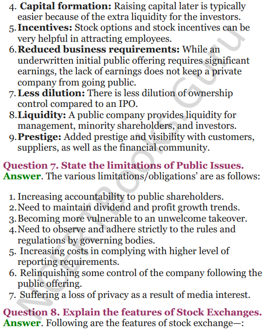 NCERT Solutions for Class 12 Entrepreneurship Chapter 6 Resource Mobilization 96