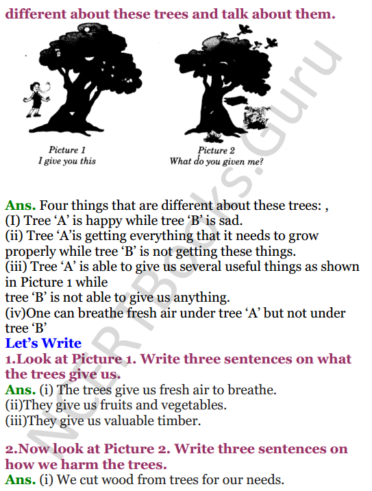 NCERT Solutions for class 3 English Unit-3 Poem Little by Little 2