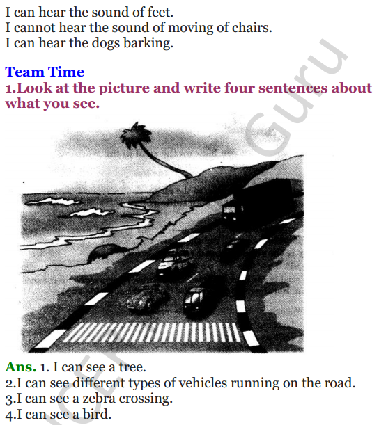 NCERT Solutions for Class 3 English Unit-6 The story of the road 2