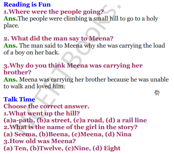 NCERT Solutions for Class 3 English Unit-9 He is my brother 1