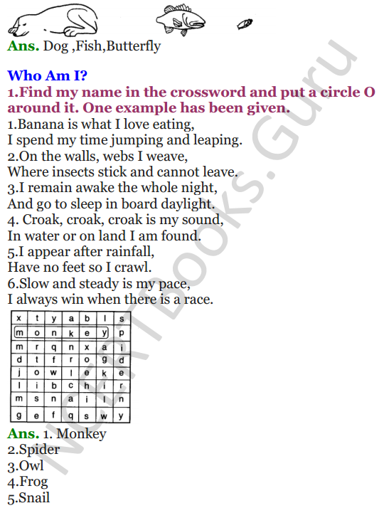 NCERT Solutions for Class 3 EVS Chapter 1 Poonams Day out 3