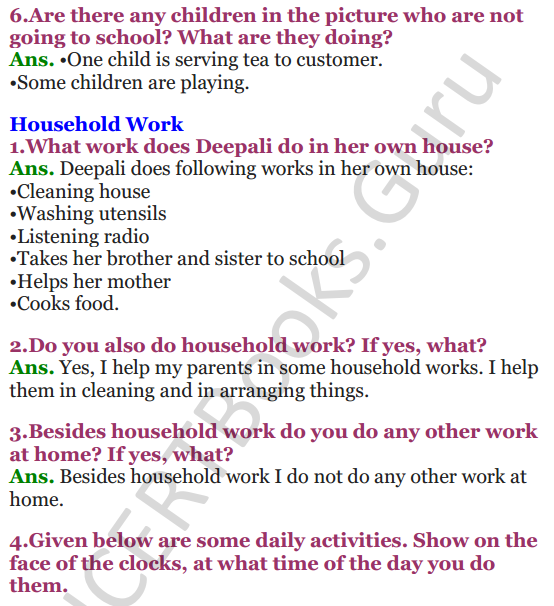 NCERT Solutions for class 3 EVS Chapter 12 Work We Do 3