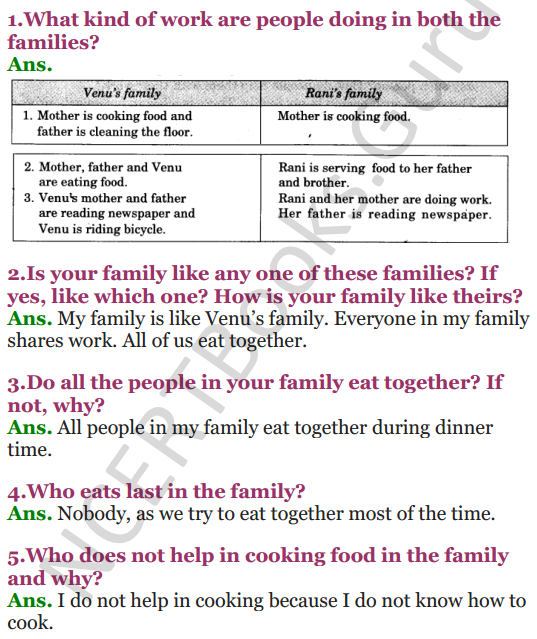 NCERT Solutions for Class 3 EVS Chapter 14 The Story of Food 1