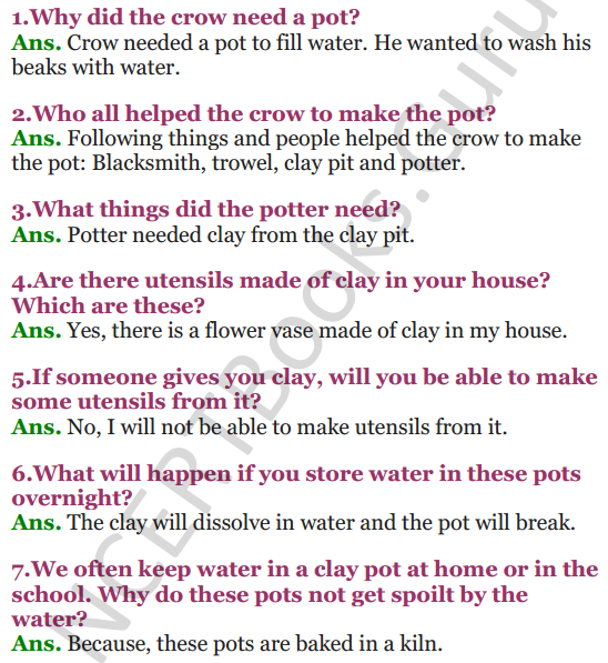 NCERT Solutions for Class 3 EVS Chapter 15 Making Pots 1