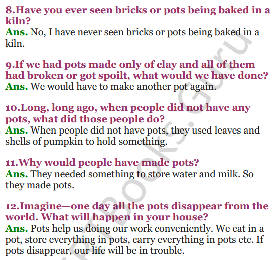 NCERT Solutions for Class 3 EVS Chapter 15 Making Pots 2