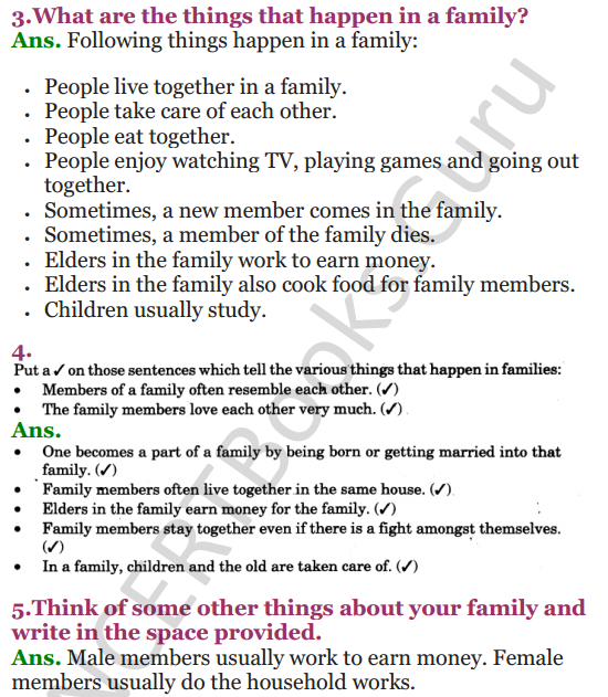 NCERT Solutions for Class 3 EVS Chapter 21 Families Can Be Different 4