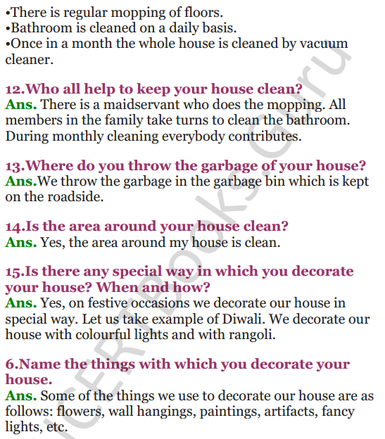 NCERT Solutions for Class 3 EVS Chapter 5 Chhotu's House 4