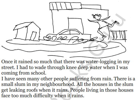 NCERT Solutions for Class 3 EVS Chapter 9 It's Raining 3