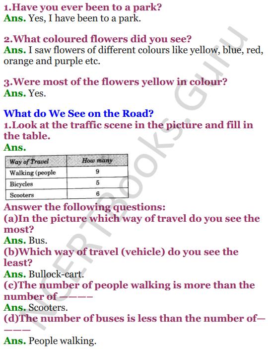 NCERT Solutions for class 3 Mathematics Chapter-13 Smart Charts! 1