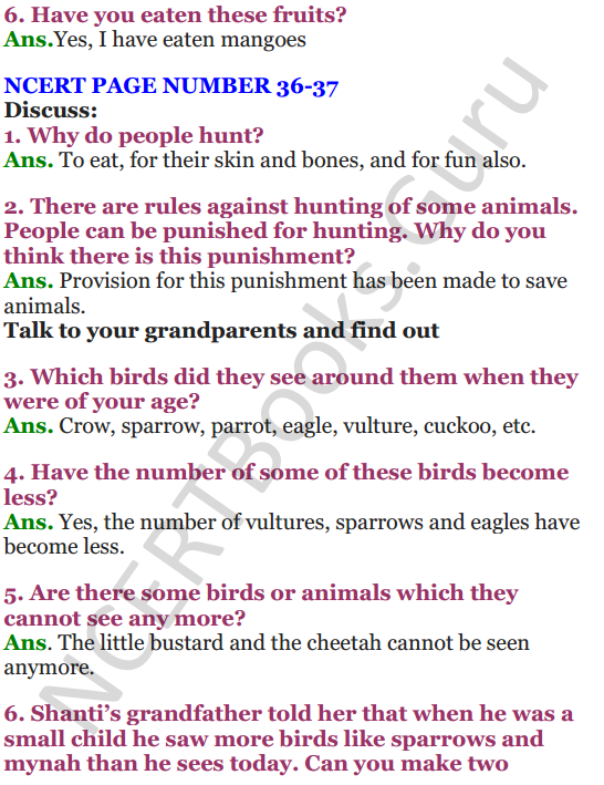 NCERT Solutions For Class 4 Chapter 4 The Story of Amrita 3