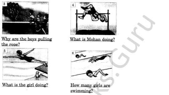 NCERT Solutions for Class 4 English Unit-3 Poem Run 4