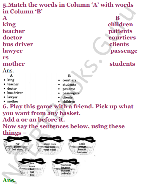NCERT Solutions for Class 4 English Unit-7 The scholar's mother tongue 4