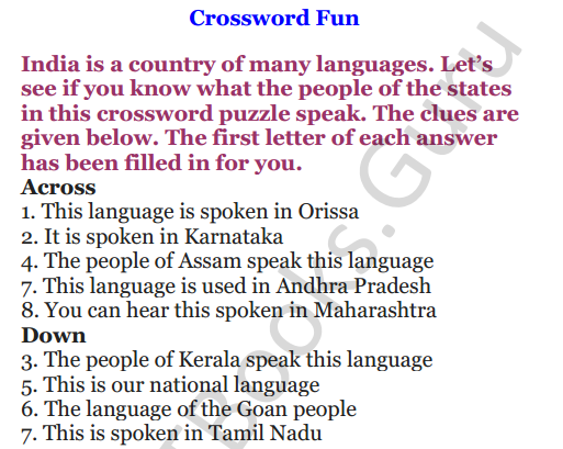NCERT Solutions for Class 4 English Unit-7 The scholar's mother tongue 7