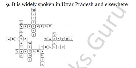 NCERT Solutions for Class 4 English Unit-7 The scholar's mother tongue 8