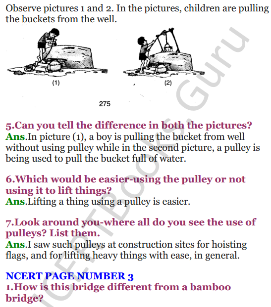 NCERT Solutions for Class 4 EVS Chapter 1 Going To School 2