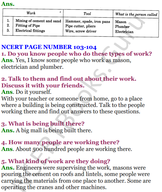 NCERT Solutions for Class 4 EVS Chapter 12 Changing Times 4