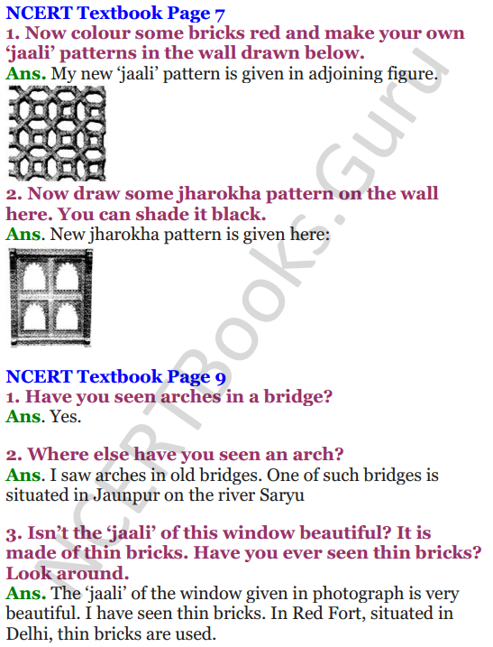NCERT Solutions for Class 4 Mathematics Chapter-1 Building With Bricks 4
