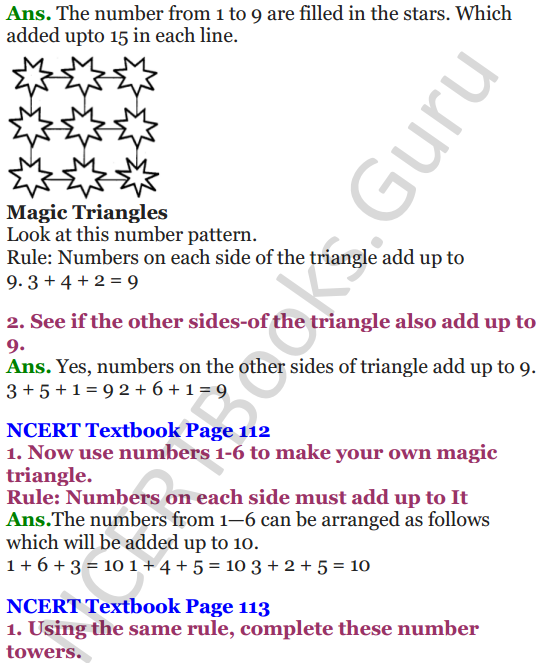 NCERT Solutions for Class 4 Mathematics Chapter-10 Play With Patterns 4