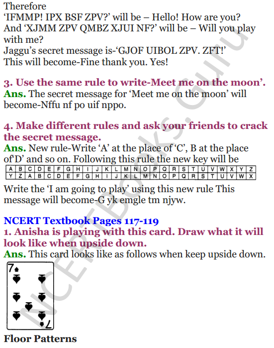 NCERT Solutions for Class 4 Mathematics Chapter-10 Play With Patterns 8