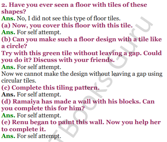 NCERT Solutions for Class 4 Mathematics Chapter-10 Play With Patterns 9