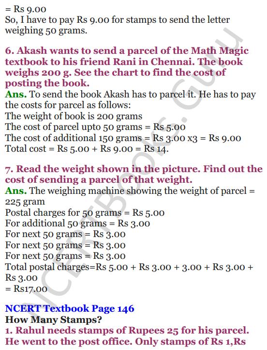 NCERT Solutions for Class 4 Mathematics Chapter-12 How Heavy How Light 10