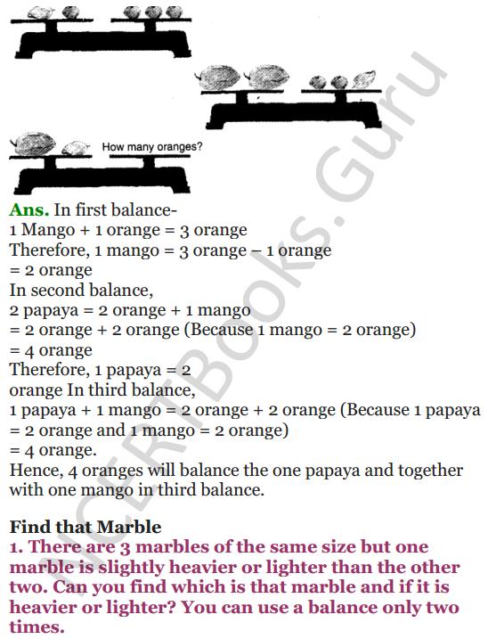 NCERT Solutions for Class 4 Mathematics Chapter-12 How Heavy How Light 13