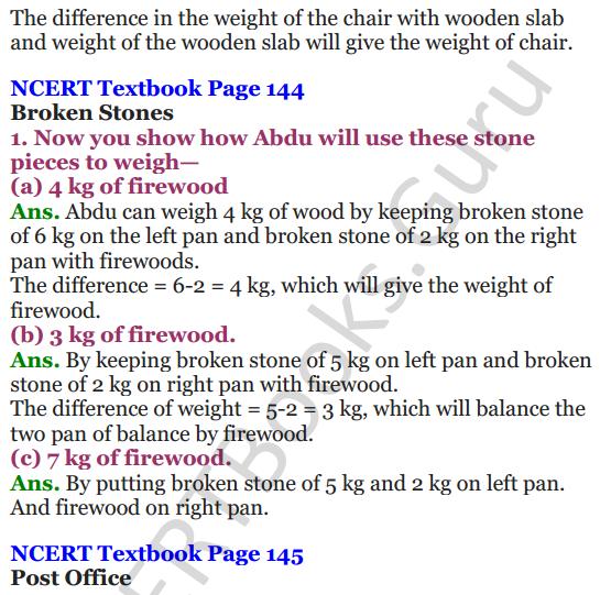 NCERT Solutions for Class 4 Mathematics Chapter-12 How Heavy How Light 8