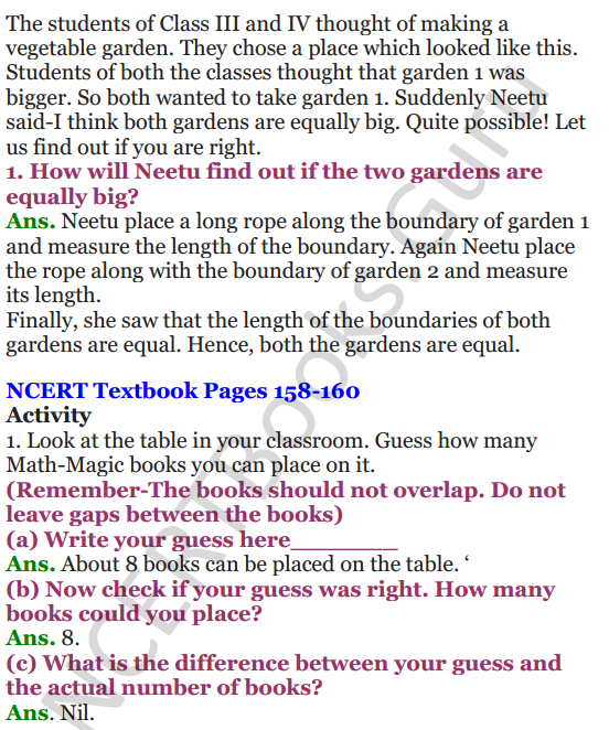NCERT Solutions for Class 4 Mathematics Chapter-13 Fields And Fences 11