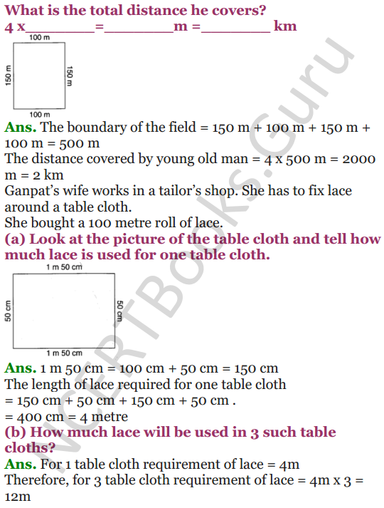 NCERT Solutions for Class 4 Mathematics Chapter-13 Fields And Fences 4