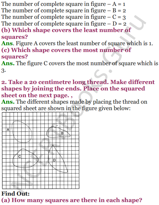 NCERT Solutions for Class 4 Mathematics Chapter-13 Fields And Fences 6