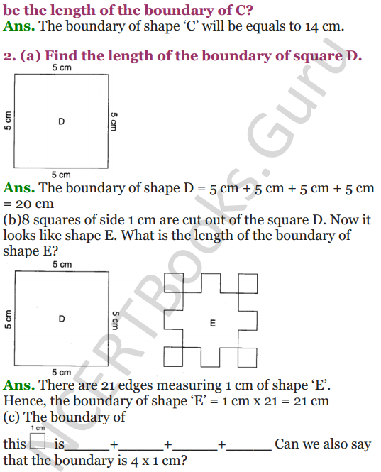 NCERT Solutions for Class 4 Mathematics Chapter-13 Fields And Fences 9