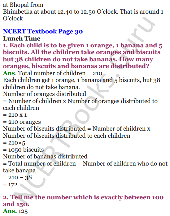 NCERT Solutions for Class 4 Mathematics Chapter-3 A Trip To Bhopal 5