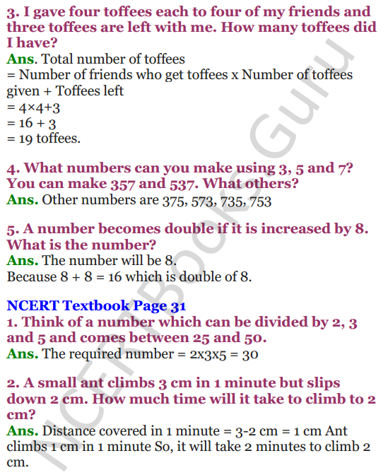 NCERT Solutions for Class 4 Mathematics Chapter-3 A Trip To Bhopal 6
