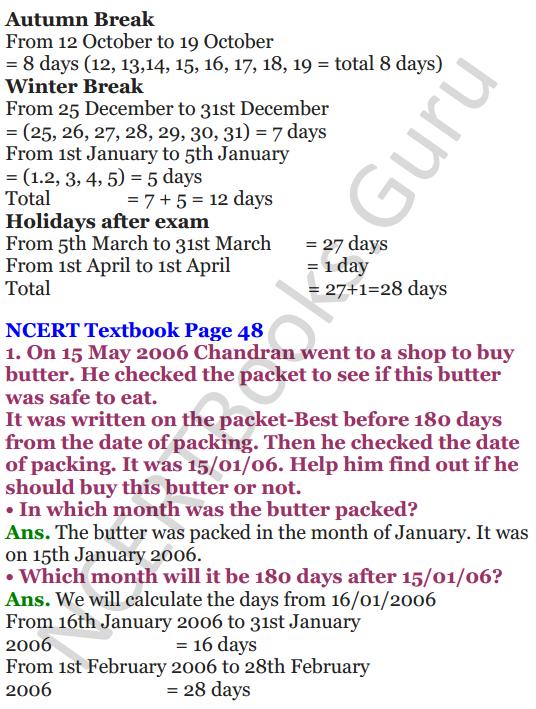 NCERT Solutions for Class 4 Mathematics Chapter-4 Tick-Tick-Tick 14