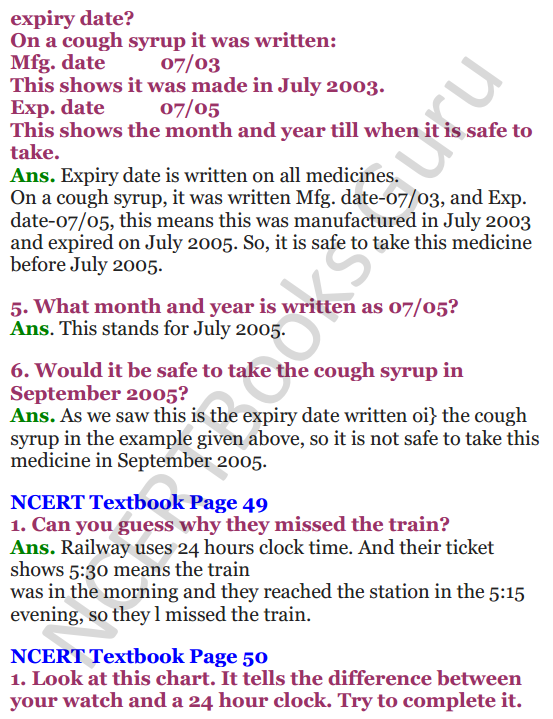 NCERT Solutions for Class 4 Mathematics Chapter-4 Tick-Tick-Tick 16